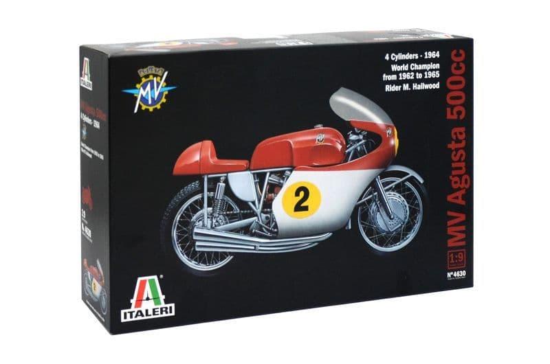 Italeri 1/9 MV Agusta 500cc 4 Cylinders - 1964 # 4630