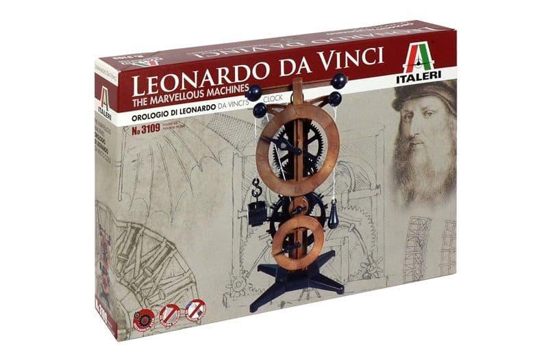 Italeri Leonardo Da Vinci Clock # 3109