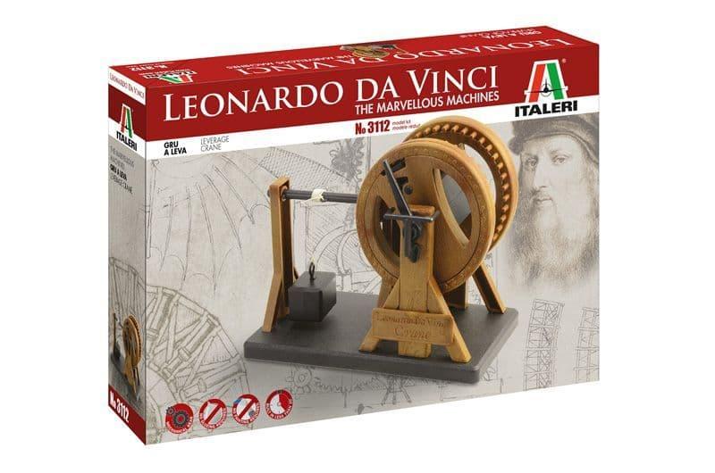Italeri Leonardo Da Vinci The Leverage Crane # 3112