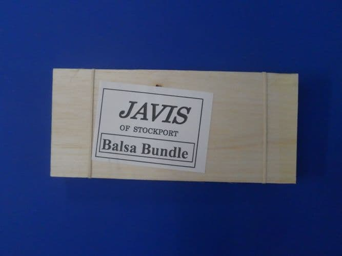 Javis Balsa Bundle - Small Board and Square Dowels