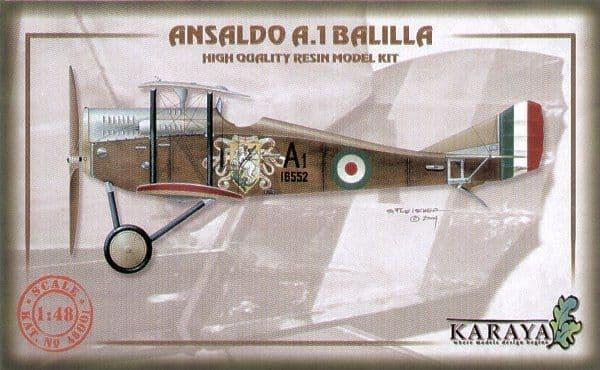 Karaya 1/48 Ansaldo A.1 Balilla # 48001