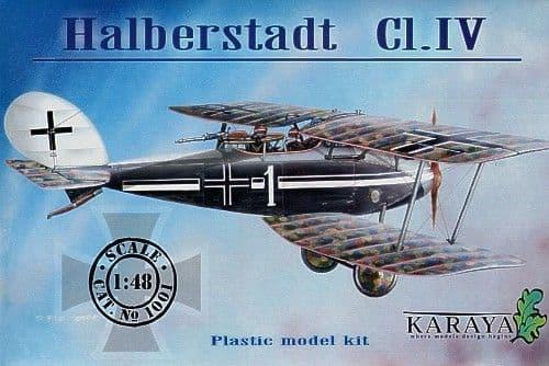 Karaya 1/48 Halberstadt C1.IV # 1001