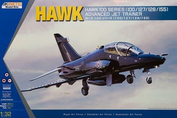 Kinetic 1/32 BAe Hawk 100 Series # 3206