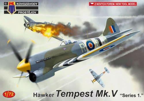 Kovozavody Prostejov 1/72 Hawker Tempest Mk.V