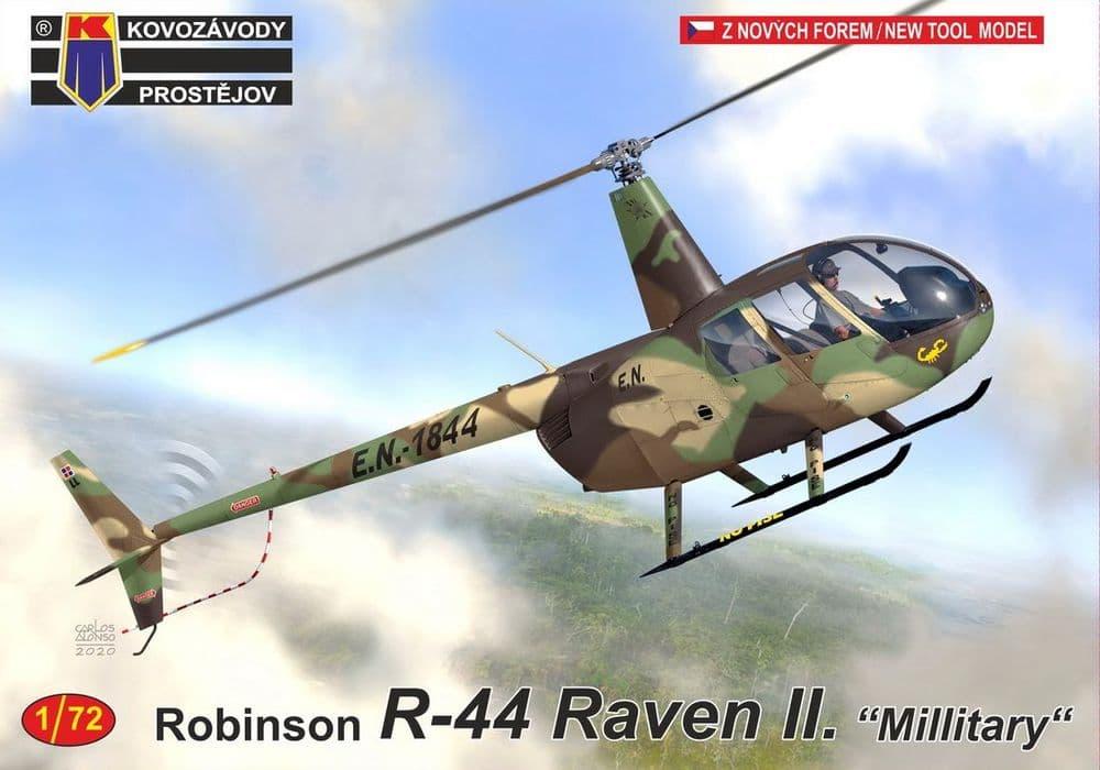"""Kovozavody Prostejov 1/72 Robinson R-44 Raven II """"Military"""" # 72216"""
