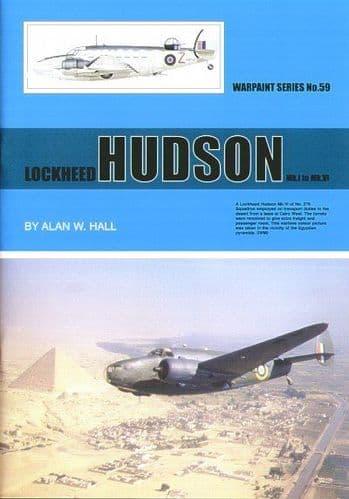 Lockheed Hudson Mk.I to Mk.VI - By Alan W. Hall