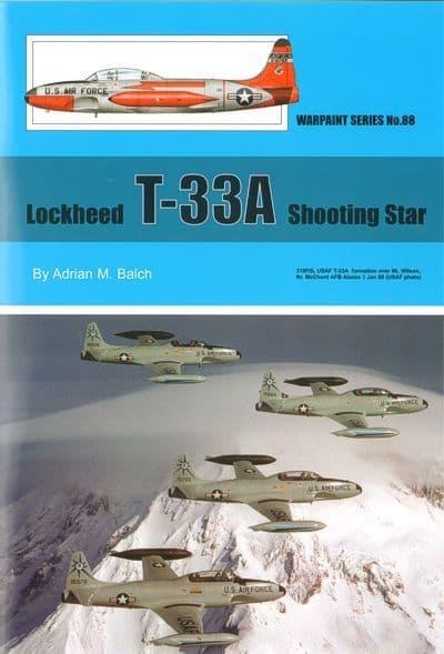 Lockheed T-33A Shooting Star - By Adrian M. Balch