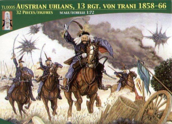 Lucky Toys 1/72 Austrian Uhlans 13th. Regiment Von Trani 1858-66 # 7205