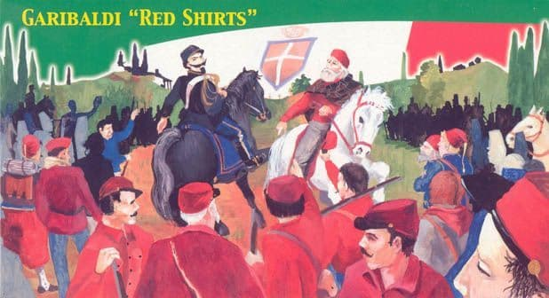 Lucky Toys 1/72 Garibaldi Red Shirts # 7209