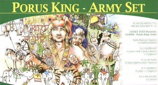 Lucky Toys 1/72 King Porus Army # 7208