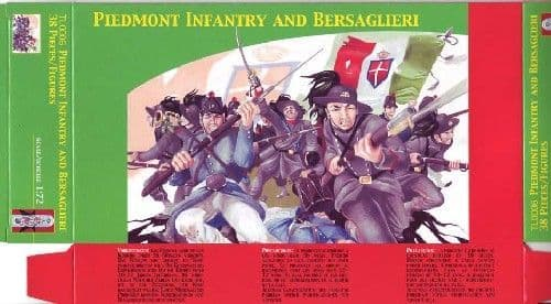 Lucky Toys 1/72 Piedmont Infantry and Bersaglieri # 7206