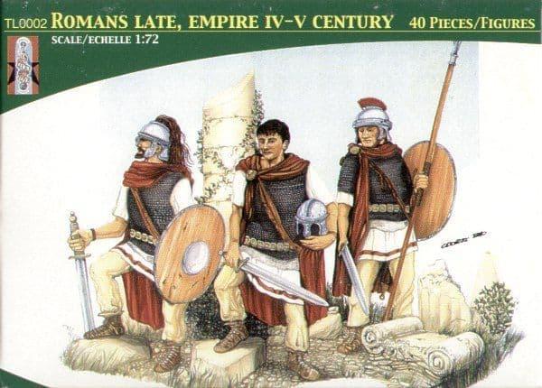 Lucky Toys 1/72 Romans Late Empire IV-V Century x 40 Figures # 7202