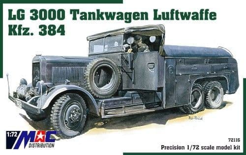 Mac Distribution 1/72 LG3000 Tankwagen Luftwaffe # 72116
