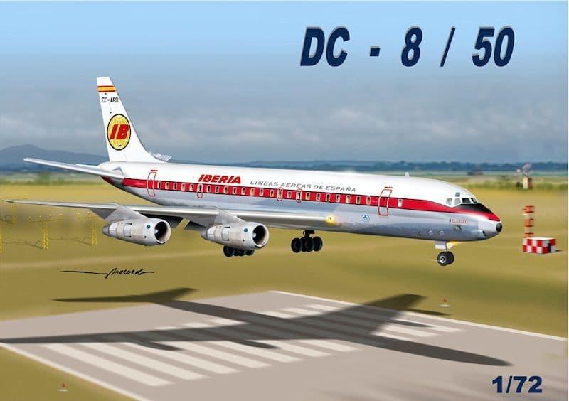 "Mach 2 1/72 Douglas DC-8/50 ""Iberia"" # GP110IBA"