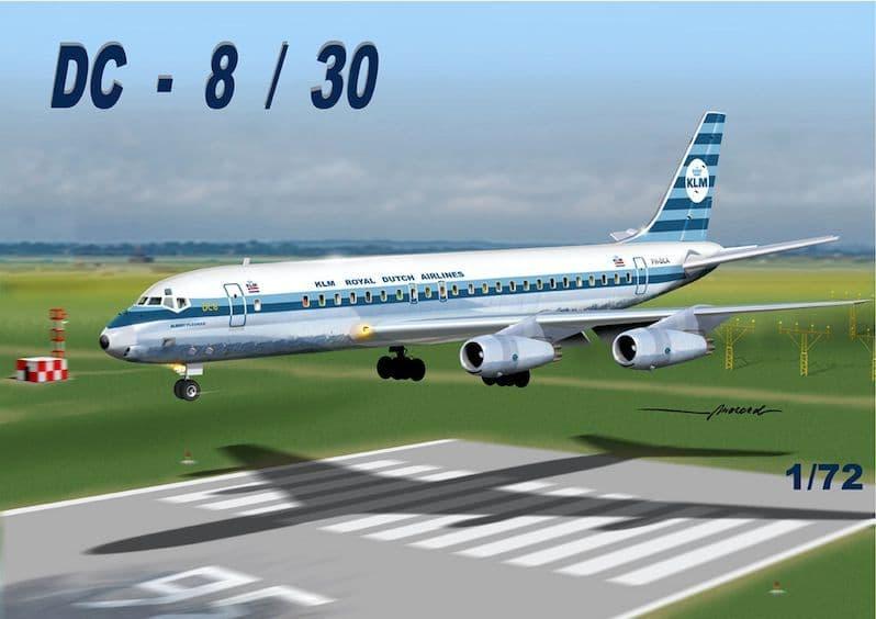 "Mach 2 1/72 Douglas DC-8/50 ""KLM"" # GP110KLM"