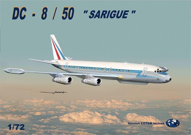 """Mach 2 1/72 Douglas DC-8/50 """"Sarique"""" # GP110AAF"""