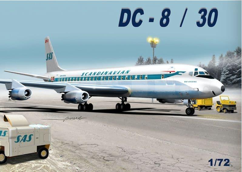 "Mach 2 1/72 Douglas DC-8/50 ""Scandinavian"" # GP110SAS"