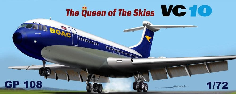 Mach 2 1/72 Vickers VC-10 BOAC 'The Queen Of The Skies' # GP108