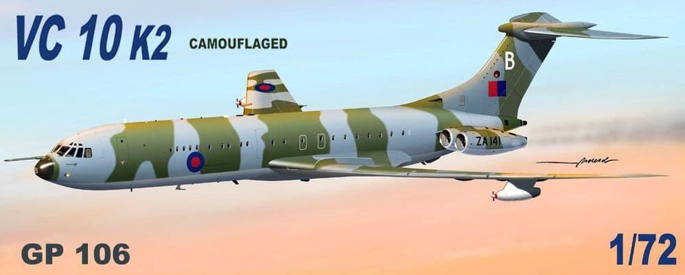 Mach 2 1/72 Vickers VC-10 K2 RAF 'Camouflaged' # GP106