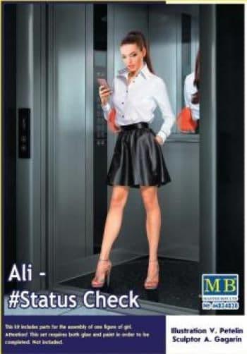 Master Box 1/24 Ali - #Status Check # 24028