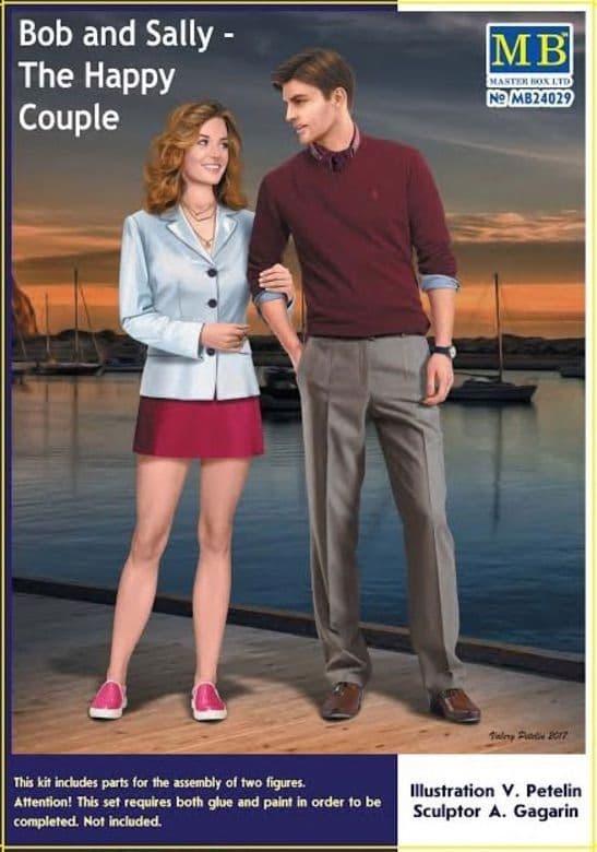 Master Box 1/24 Bob and Sally - The Happy Couple # 24029