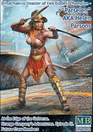 "Master Box 1/24 Dimachaerus Champion ""Parselen"" AKA Helen Parsons # 24056"