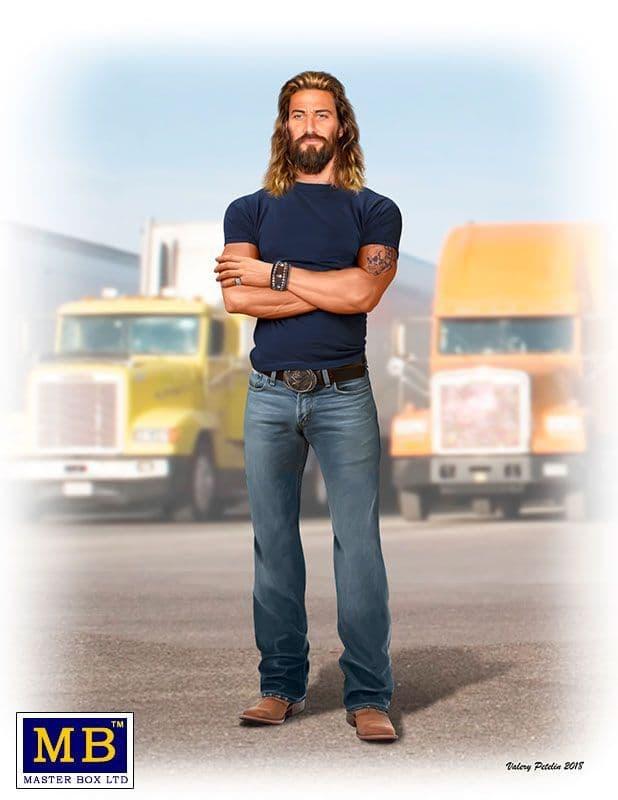 "Master Box 1/24 Truckers Series. Kit No. 7 - ""Holy Roller"" Jordan ""Jesus"" Jamerson # 24060"