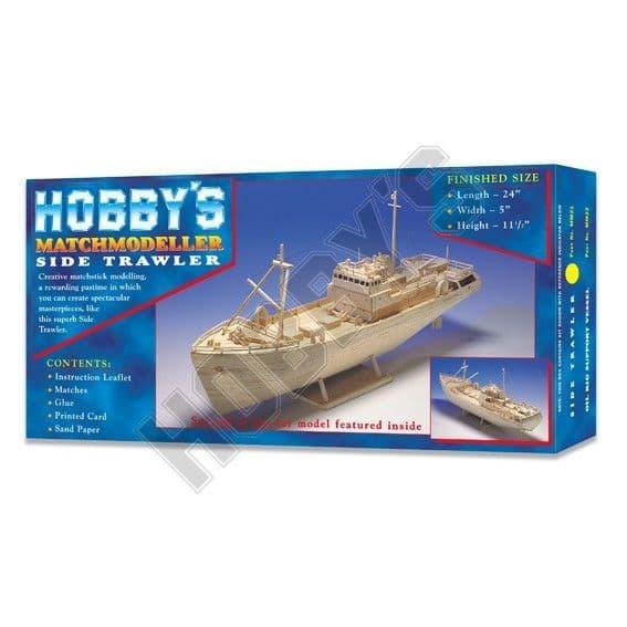 Match Modeller - Side Trawler Matchstick Kit # MM21