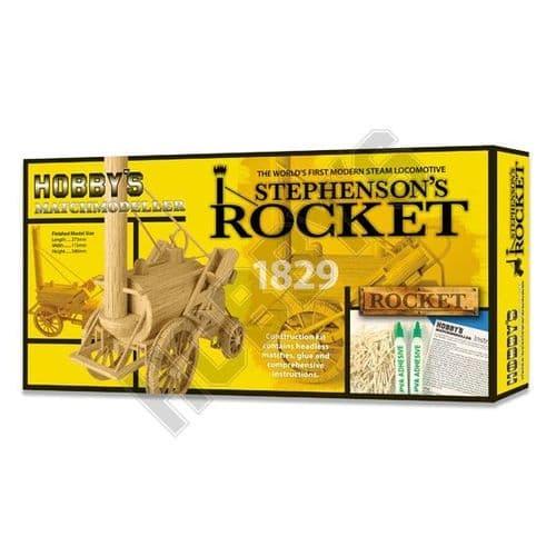 Match Modeller - Stephenson's Rocket 1829 Matchstick Kit # MM25
