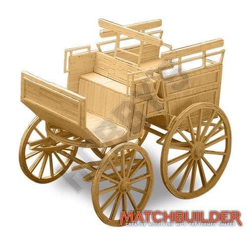 Matchbuilder - Wagonette Matchstick Kit # 6115