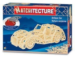 Matchitecture - Antique Car Matchstick Kit # 6616