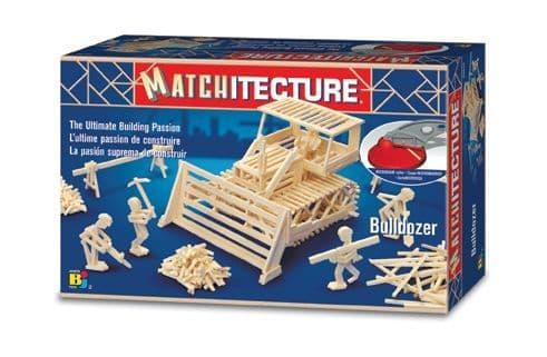 Matchitecture - Bulldozer Matchstick Kit # 6640