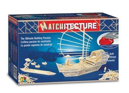 Matchitecture - Chinese Junk Matchstick Kit # 6643