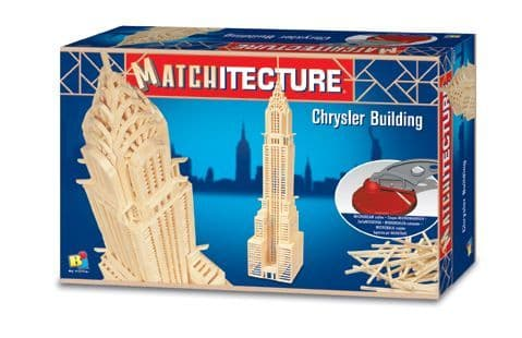 Matchitecture - Chrysler Building Matchstick Kit # 6648