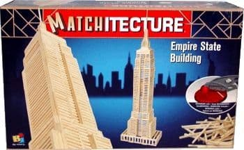 Matchitecture - Empire State Building Matchstick Kit # 6647