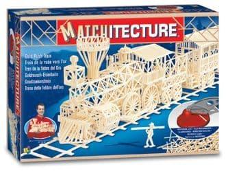 Matchitecture - Gold Rush Train Matchstick Kit # 6613