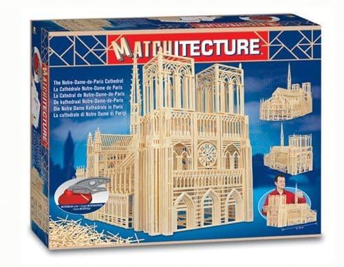 Matchitecture - Notre Dame de Paris Cathedral Matchstick Kit # 6636