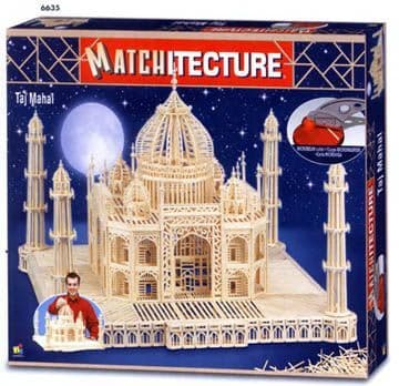 Matchitecture - Taj Mahal Matchstick Kit # 6635