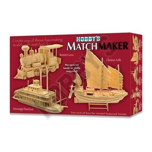 Matchmaker - Chinese Junk Matchstick Kit # 005