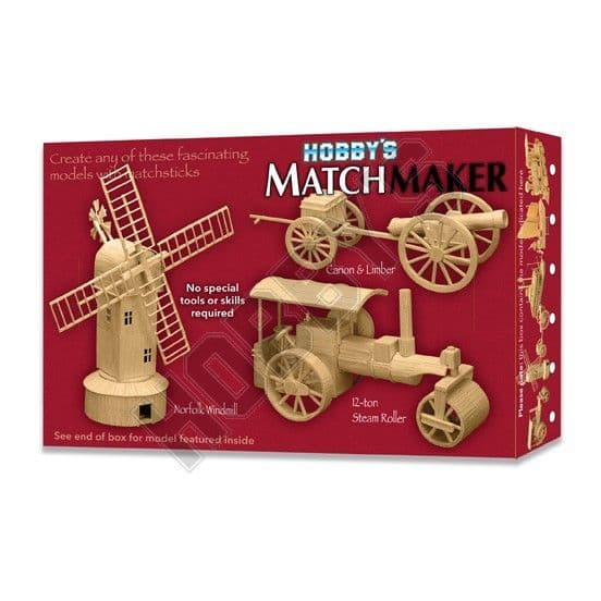 Matchmaker - Steam Roller Matchstick Kit # 001