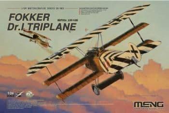 Meng Model 1/24 - Fokker Dr.I Triplane # QS-003