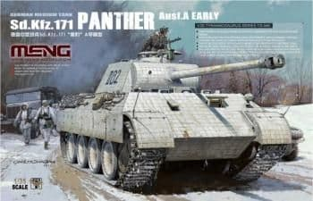 Meng Model 1/35 - Sd.Kfz.171 Panther Ausf A Early (German) # TS-046