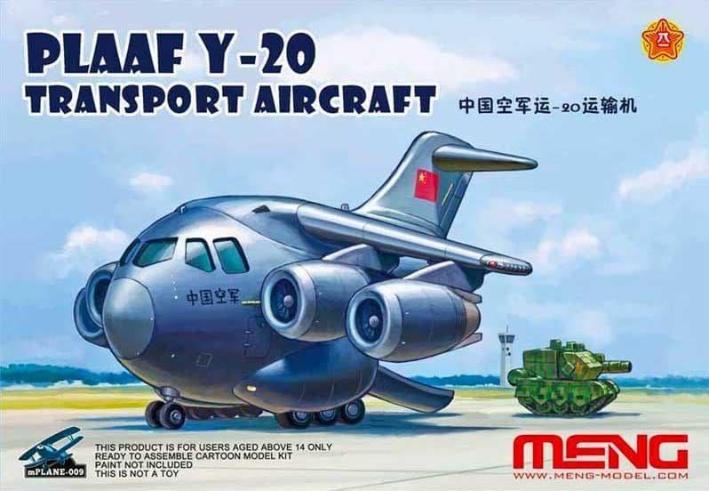 Meng Model Kids - PLAAF Y-20 Transport Aircraft # MP-009