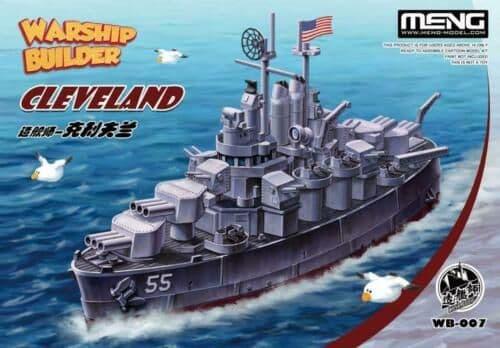 Meng Model - Warship Builder - Cleveland # WB-007