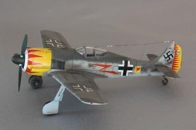 """Merit 1/18 Focke-Wulf Fw-190A-5 """"Major Graf"""" (Built & Painted) # 60031"""