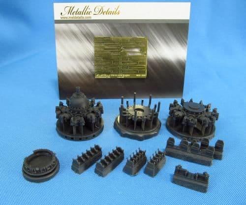 Metallic Details 1/32 Pratt & Whitney R-1830 Set # MDR3204