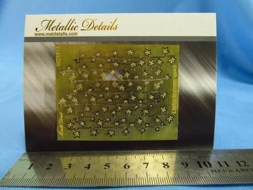Metallic Details - Liana Leaves Type 3 (Flora) # MD3513