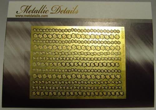 Metallic Details - Maple Leaves (Flora) # MD3511