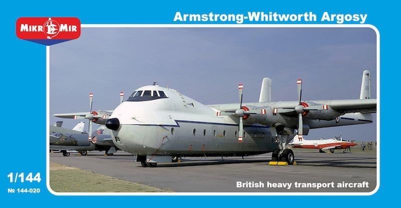 Micro-Mir 1/144 Armstrong-Whitworth Argosy RAF # 144-020