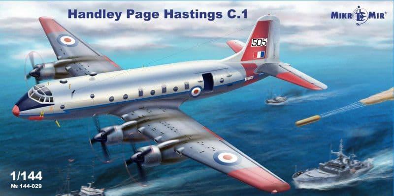 Micro-Mir 1/144 Handley-Page Hastings C.1 # 144-029